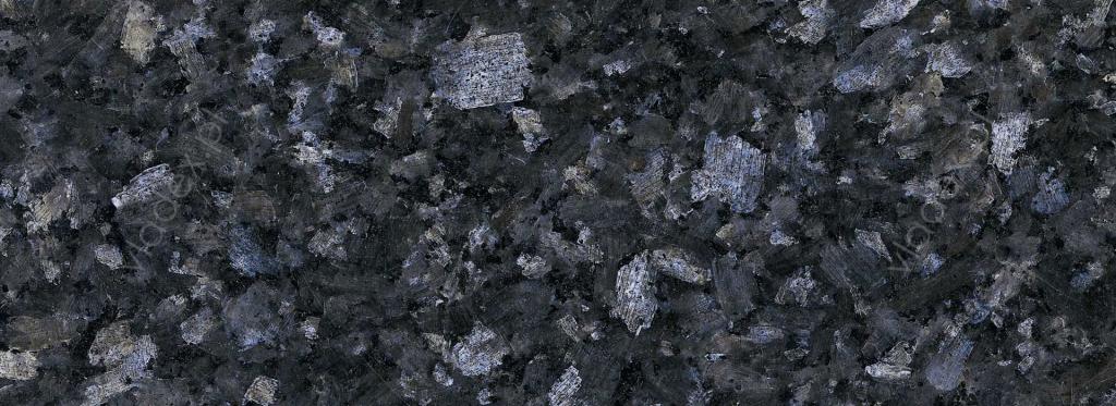 Granit Labrador Blue, struktura
