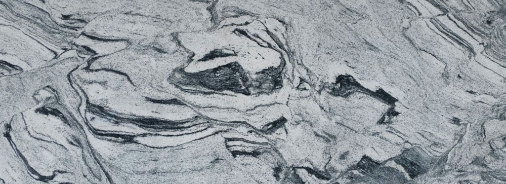 Struktura granitu Viscount White